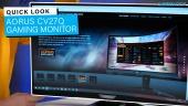 El Vistazo - Monitor Gaming Aorus CV27Q
