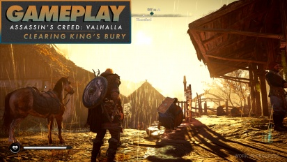 Assassin's Creed Valhalla - Gameplay #1 Refriegas en King's Bury