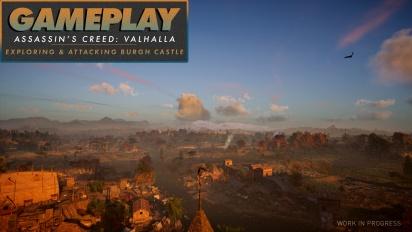 Assassin's Creed Valhalla - Gameplay #2 Exploración y combate en Burgh Castle