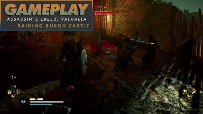 Assassin's Creed Valhalla - Gameplay #3 Incursión en el Castillo