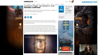 GRTV News - Resumen de Ubisoft Forward 2