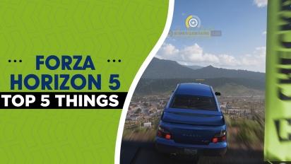 Forza Horizon 5 - Preview en vídeo: Top 5 claves