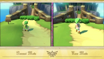 The Legend of Zelda: The Wind Waker HD - Hero Mode Trailer