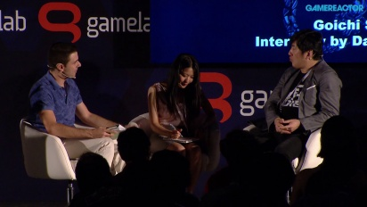 Suda51: Grass-Hopping from Punk to Business - Charla completa Gamelab 2015