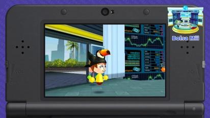 Plaza Mii de StreetPass para Nintendo 3DS - Tráiler de novedades