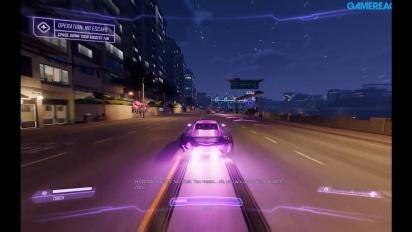 Agents of Mayhem - Gameplay en el coche de Hollywood