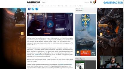 GRTV News - 505 Games pierde el control de Control