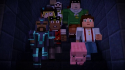 Minecraft: Story Mode - Minecon Trailer