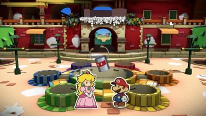 Paper Mario: Color Splash - Tráiler español E3 2016
