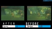 The Legend of Zelda: Breath of the Wild - Gameplay Framerate Comparison: Before and After v1.1.1. Patch