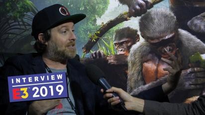 Ancestors: The Humankind Odyssey - Entrevista a Patrice Désilets