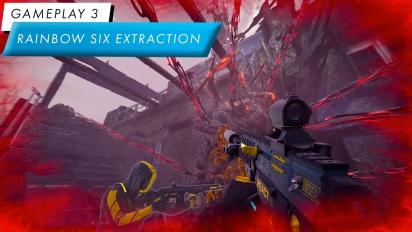 Rainbow Six: Extraction - Gameplay de sabotajes y eliminación