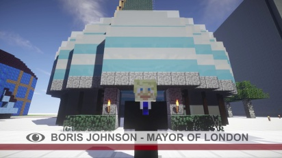 Games London Announcement - #MinecraftBoris
