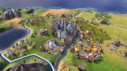 Civilization VI - First Look: Unstacking Cities