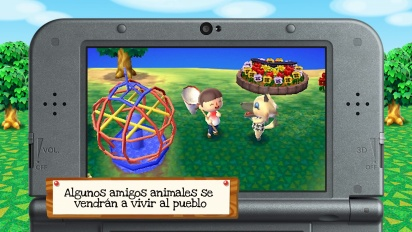 Animal Crossing: New Leaf - Tráiler de novedades amiibo