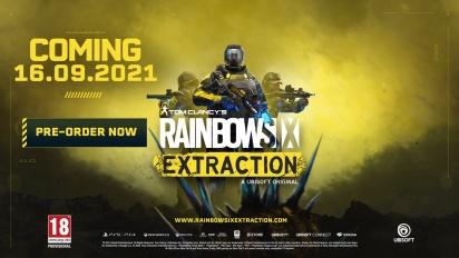 Rainbow Six: Extraction - Tráiler de anuncio