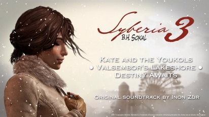 Syberia 3 - A Glimpse of Inon Zur's Soundtrack