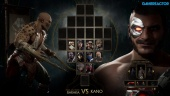 Mortal Kombat 11 - Gameplay de Baraka vs Kano