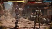 Mortal Kombat 11 - Gameplay de Geras vs Skarlet