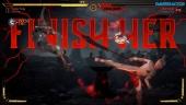 Mortal Kombat 11 - Gameplay de Sonya vs Cassie Cage