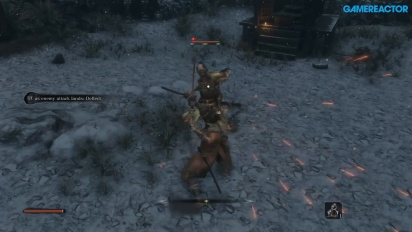 Sekiro: Shadows Die Twice - Gameplay extendido de Gamereactor
