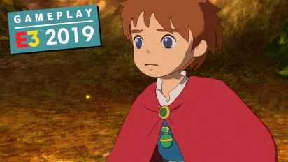 Ni no Kuni: La Ira de la Bruja Blanca Remastered - Gameplay E3