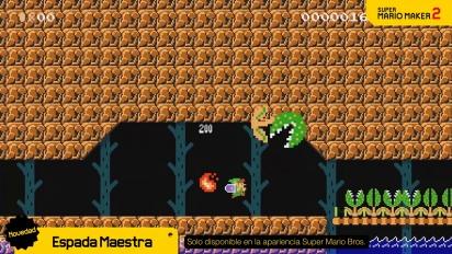 Super Mario Maker 2 - La Espada Maestra, nuevos elementos de nivel ¡y mucho más! (Nintendo Switch)
