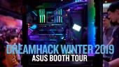 Dreamhack 19 - Tour por la zona Asus