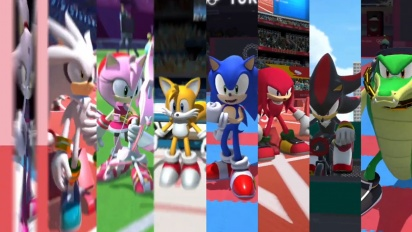 Sonic at the Olympic Games: Tokyo 2020 - Launch Trailer