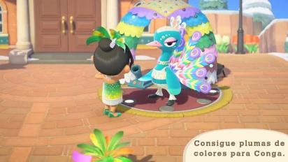 Animal Crossing: New Horizons - Tráiler del Carnaval en español