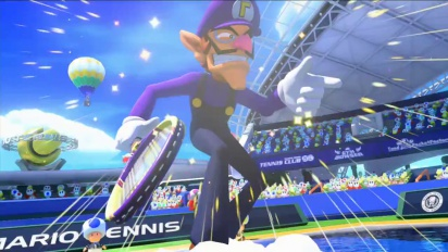 Mario Tennis Ultra Smash - Look Who's on the Court Trailer