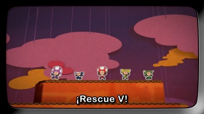 Paper Mario: Color Splash - Rescue V Episodio 1: ¡Misiones a Montones!