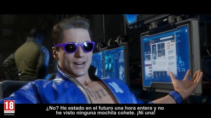 Mortal Kombat 11 - Tráiler español del modo historia de MK11