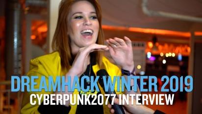 Cyberpunk 2077 - Entrevista Dreamhack Winter 19