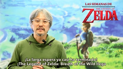 The Legend of Zelda - Eiji Aonuma presenta las semanas de rebajas Zelda