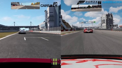 Forza Motorsport 7 vs Project CARS 2 vs Forza 6 - Comparativa