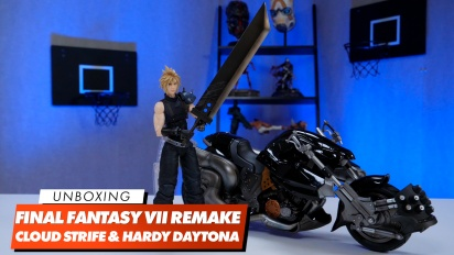 Play Arts Kai - Unboxing de la figura de Cloud Strife y su Hardy Daytona
