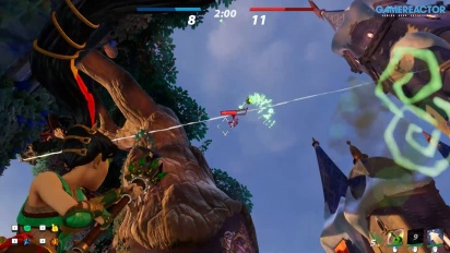 Rocket Arena - Gameplay de Izel en modo Knockout