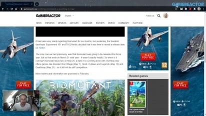 GRTV News - Biomutant encuentra sitio en el calendario