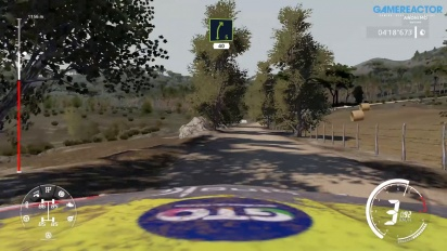 WRC 9 en Nintendo Switch en español: Rally Italia Sardegna etapa completa