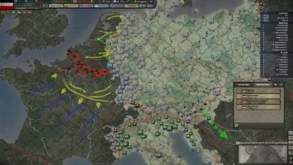 Hearts of Iron 3 - Their Finest Hour Dev Diary: Custom game & Map Planning Modes