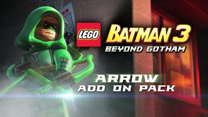 Lego Batman 3: Beyond Gotham - Arrow Pack Trailer