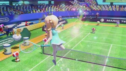 Mario Tennis Ultra Smash - Tráiler español de presentación