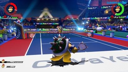 Mario Tennis Aces - Gameplay Demo en español