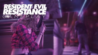 Resident Evil Resistance - Gameplay como Superviviente