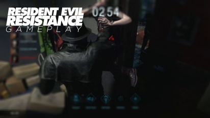 Resident Evil Resistance - Gameplay como Cerebro