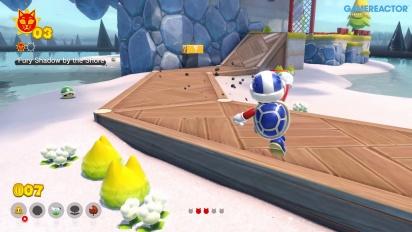 Bowser's Fury - Gameplay del principio de la partida