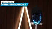SteelSeries Aerox 3 Wireless - El Vistazo