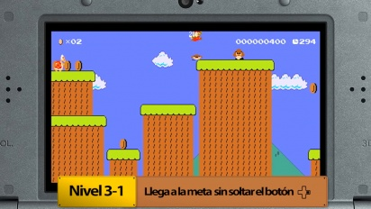 Super Mario Maker for Nintendo 3DS - Los Retos por medallas