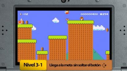 Super Mario Maker for Nintendo 3DS - Los Retos por medallas